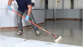 with garage floor coating